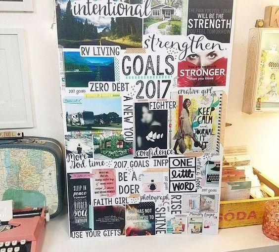 Vision Boards for Finding Clarity